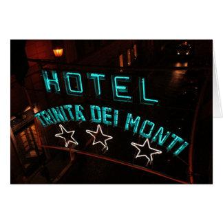 Hotel Trinita Del Monti Tarjeta Pequeña