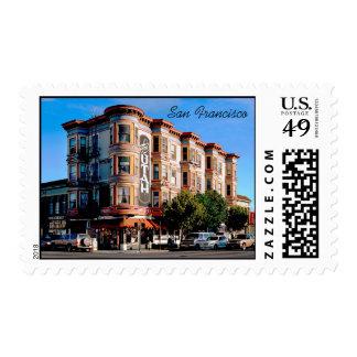 Hotel Utah full color postage stamp