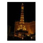 Hotel Vegas de París Tarjeta Postal