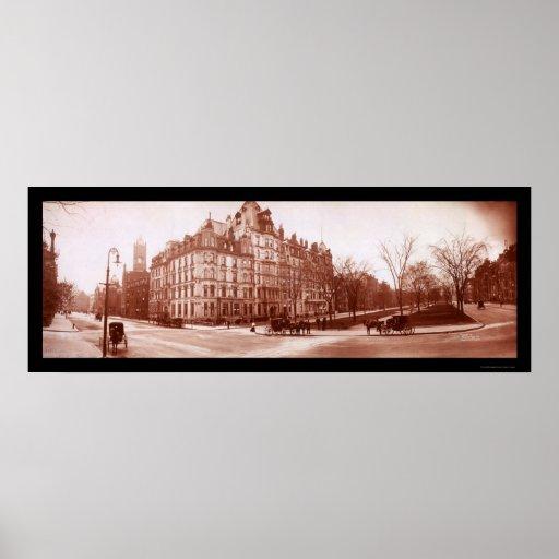 Hotel Vendome, Boston Photo 1903 Poster