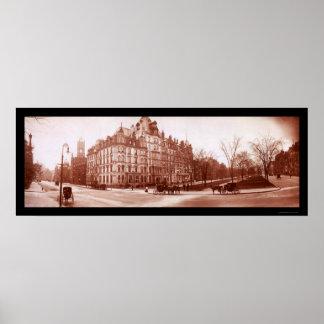 Hotel Vendome, foto 1903 de Boston Impresiones