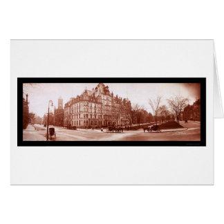 Hotel Vendome, foto 1903 de Boston Felicitación