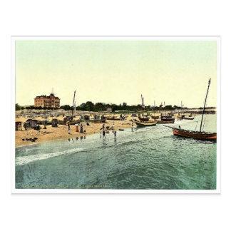 Hotel Victoria andd beach, Misdroy, Pommeraina, Ge Postcard