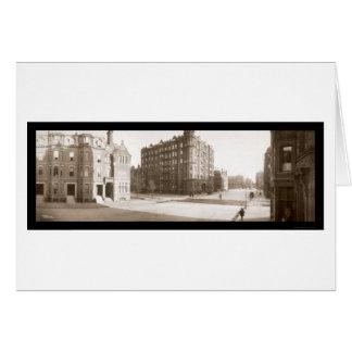 Hotel Victoria, Boston Photo 1903 Greeting Card