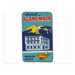 Hotel viejo Agamemnon de Nafplio Grecia del anunci Tarjetas Postales