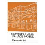 Hotel viejo Grecia de Salónica Mediterranian del Postal