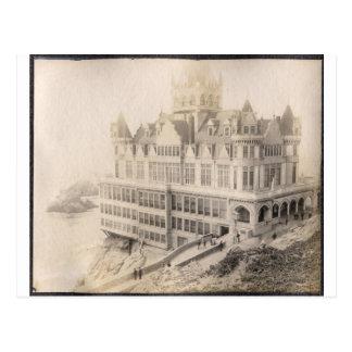 Hotel viejo, ido de largo tarjetas postales
