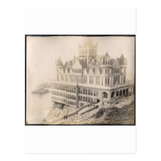 Hotel viejo, ido de largo tarjeta postal