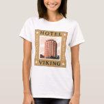 Hotel Viking Oslo Norway Vintage Travel Poster T-Shirt