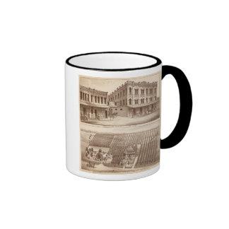 Hotel, vineyard, Tulare Ringer Coffee Mug