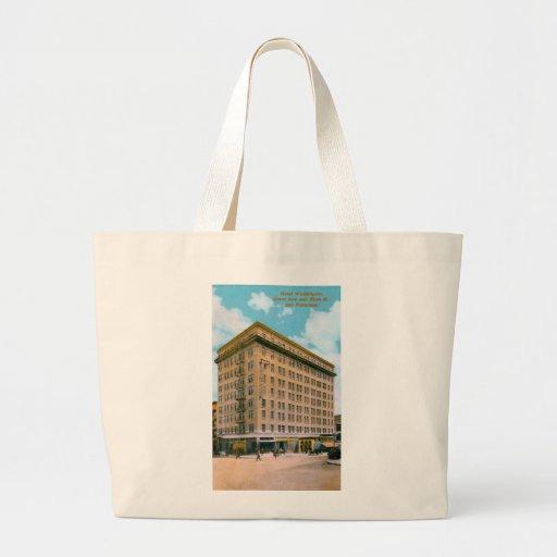 Hotel Washington Canvas Bag