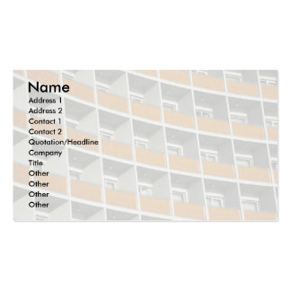 Hotel windows Double-Sided standard business cards (Pack of 100)