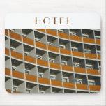 Hotel windows mouse pad