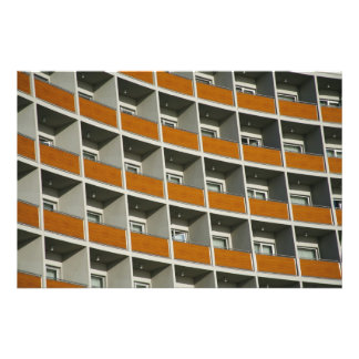 Hotel windows photo print