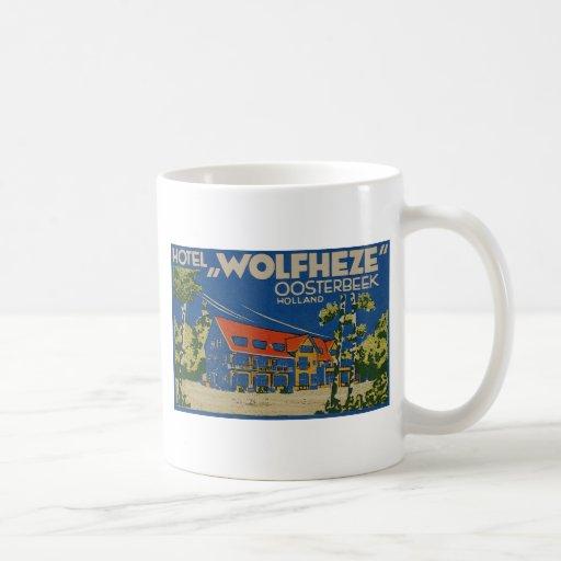 HOTEL WOLFHEZE OOSTERBEEK HOLANDA TAZA