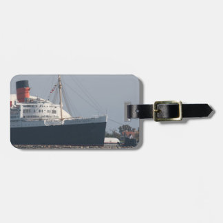 Hotel y museo del RMS Queen Mary en Long Beach Etiquetas Bolsa