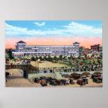 Hotel y paseo marítimo de la playa de Daytona Beac Posters