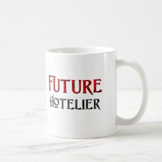 Hotelero futuro taza básica blanca