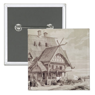Hotels and Guest Houses Pinback Button