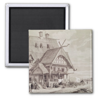 Hotels and Guest Houses Fridge Magnet
