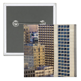 Hotels on Nob Hill near Union Square in San 2 Inch Square Button