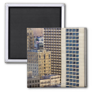 Hotels on Nob Hill near Union Square in San 2 Inch Square Magnet