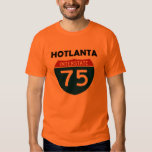 Hotlanta Atlanta Georgia I-75 Interstate Sign T Shirts