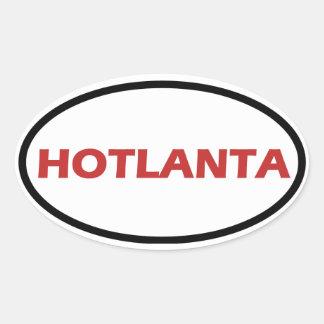 HOTLANTA OVAL STICKER