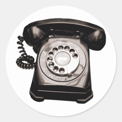 Hotline Classic Round Sticker