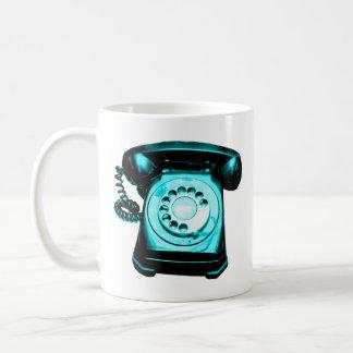 Hotline Cyan Coffee Mug