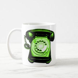 Hotline Green Coffee Mug