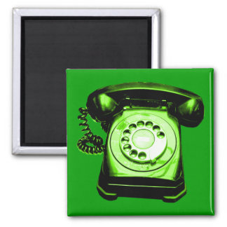 Hotline Green Magnet