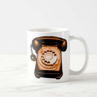 Hotline Orange Coffee Mug