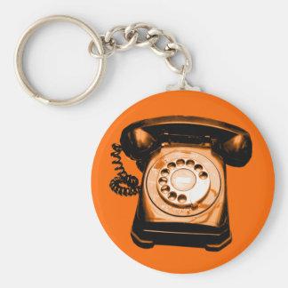 Hotline Orange Keychains