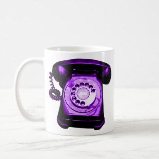 Hotline Purple Coffee Mug