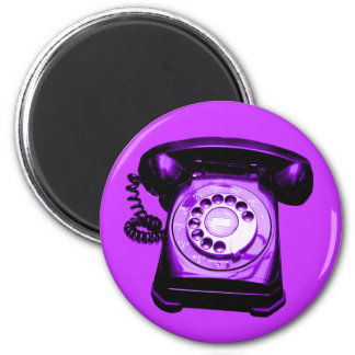 Hotline Purple Magnet