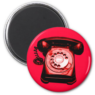Hotline Red Magnet