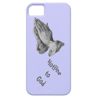 Hotline to God blue iPhone SE/5/5s Case
