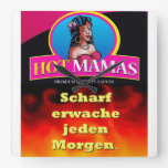 HotMamas Hotwatch - sharply awake to each morning… Wall Clock