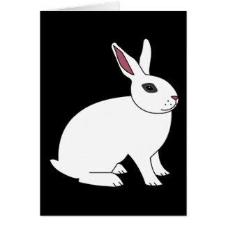 Hotot Rabbit Greeting Card