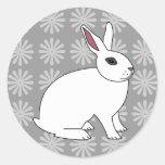 Hotot Rabbit Stickers