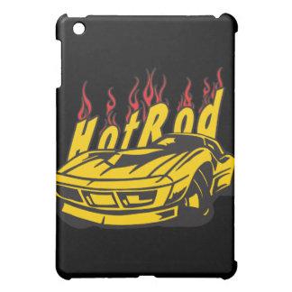 Hotrod Classic Sports Cars Flames Motor  iPad Mini Cover