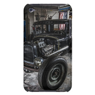 Hotrod in a Garage iPod Touch Case