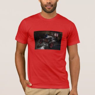 Hotrod in a Garage Tee Shirt