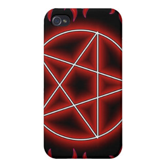 HotRod Pentagram iPhone 4 Cover