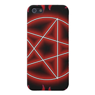 HotRod Pentagram iPhone SE/5/5s Cover