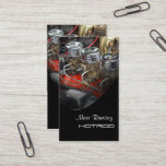 Hotrod restoration business template business card