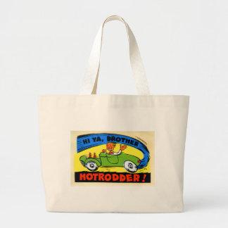 HotRodder Large Tote Bag