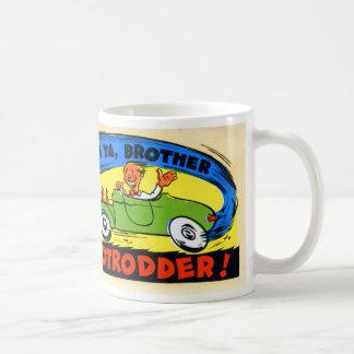 HotRodder Classic White Coffee Mug