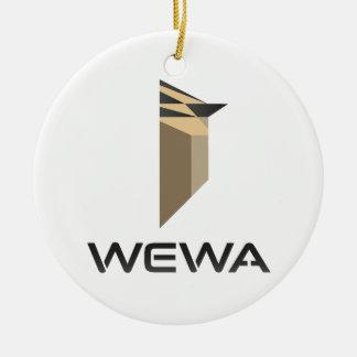 Hotspot Birding WEWA Merchandise Ceramic Ornament